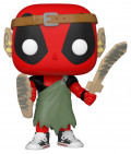 Фигурка Funko POP Marvel: Deadpool 30th – LARP Deadpool Bobble-Head (9,5 см)