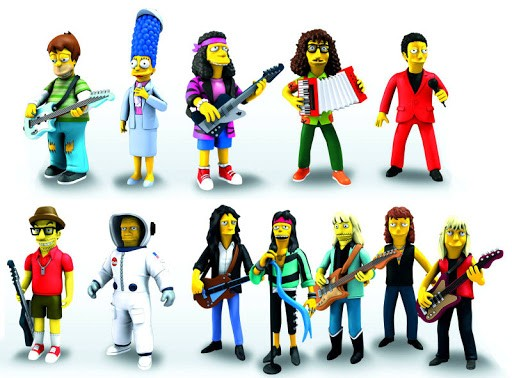 Фигурка The Simpsons. Series 4. Otto Mann (Rock Camp Otto) (13 см)