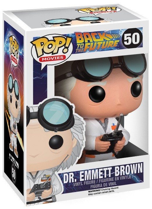Фигурка Funko POP Movies: Back To The Future – Dr. Emmet Brown (9,5 см)