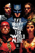 Постер DC: Justice League – Movie Save The World