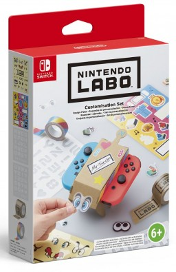 Nintendo Labo: комплект «Дизайн» для Nintendo Switch