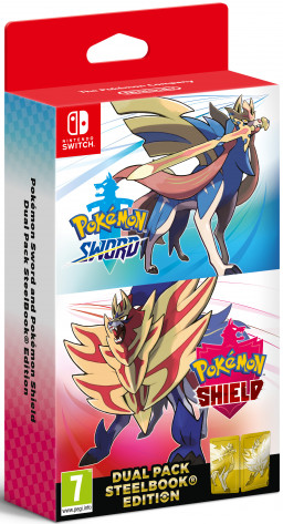 Pokemon Sword and Pokemon Shield Dual Pack [Switch]