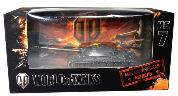 World of Tanks. Модель танка ИС-7 (1:72)