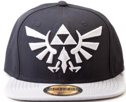 Бейсболка Zelda: Twilight Princess With Grey Triforce Logo