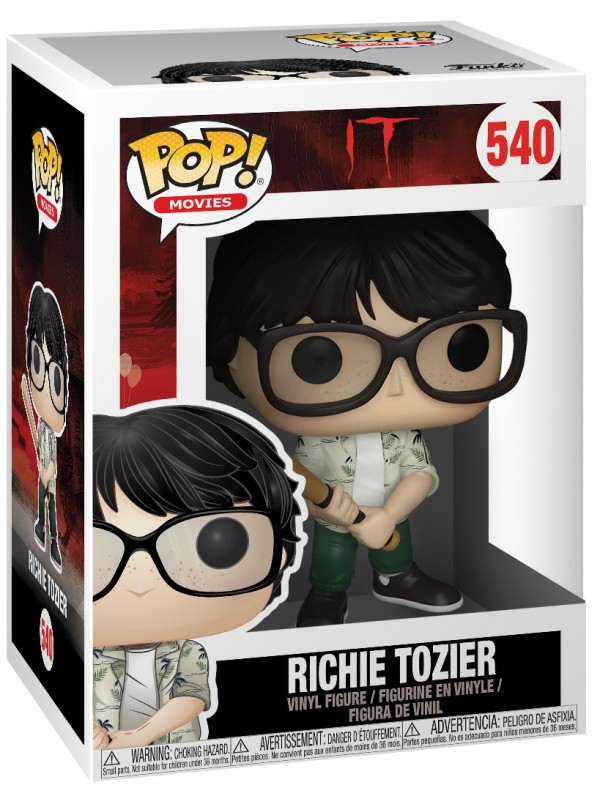 Фигурка Funko POP Movies: IT – Richie Tozier Holding Bat (9,5 см)