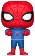 Фигурка Funko POP Marvel: Holiday – Spider-Man In Ugly Sweater Bobble-Head (9,5 см)