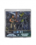 Набор фигурок Aliens Hicks vs. Blue Warrior 2 Pack (18 см)