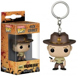 Брелок Funko POP: The Walking Dead – Rick Grimes