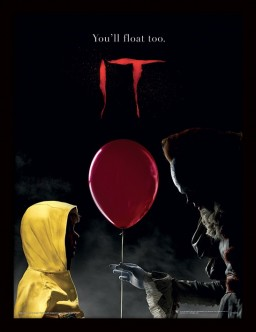 Постер в раме IT: Pennywise & Georgie