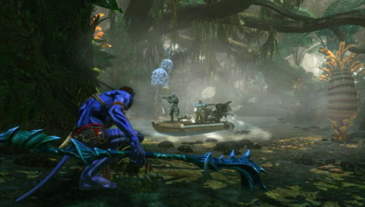 Скриншот из игры James Cameron's Avatar: The Game