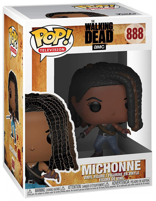 Фигурка Funko POP Television: The Walking Dead – Michonne (9,5 см)
