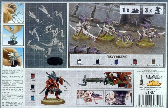 Набор миниатюр Warhammer 40,000. Tyranid Warriors