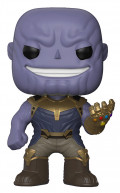 Фигурка Funko POP Marvel: Avengers Infinity War – Thanos Metallic Bobble-Head Exclusive (9,5 см)