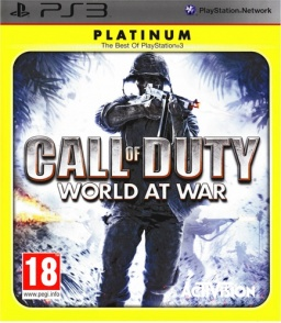 Call of Duty: World at War (Platinum) [PS3]
