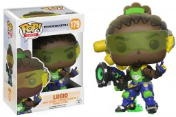 Фигурка Funko POP Games: Overwatch – Lucio (9,5 см)