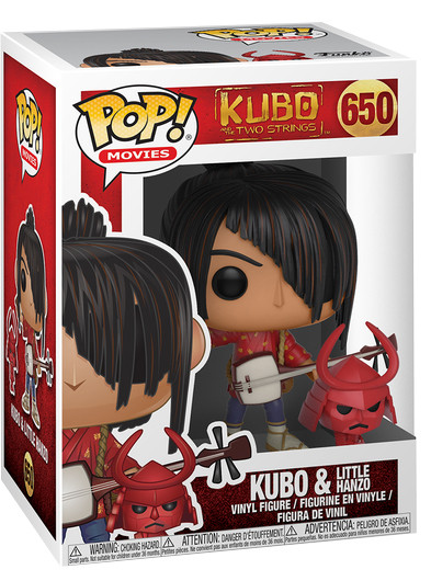Фигурка Funko POP Movies: Kubo And The Two Strings – Kubo & Little Hanzo (9,5 см)