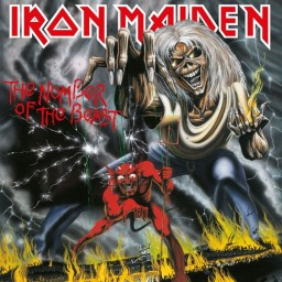 Iron Maiden. The Number Of The Beast (LP)
