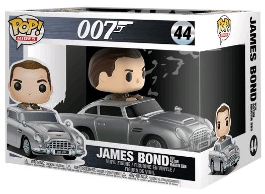 Фигурка Funko POP: Rides James Bond – Aston Martin & Sean Connery (9,5 см)