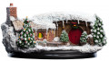 Статуэтка The Hobbit An Unexpected Journey: Hobbit Hole – 35 Bagshot Row Christmas Edition