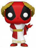 Фигурка Funko POP Marvel: Deadpool 30th – Roman Senator Deadpool Bobble-Head (9,5 см)
