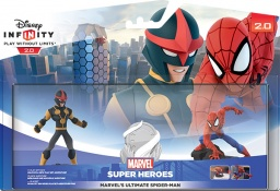 Disney Infinity 2.0. Marvel. Набор 2+1: Человек Паук [PS3 / PS4 / Xbox 360 / Xbox One]
