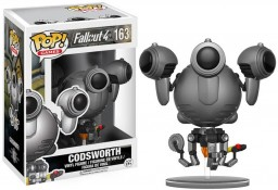 Фигурка Funko POP Games: Fallout 4 – Codsworth (9,5 см)
