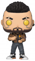 Фигурка Funko POP Games: Cyberpunk 2077 – V-Male Glows In The Dark (9,5 см)