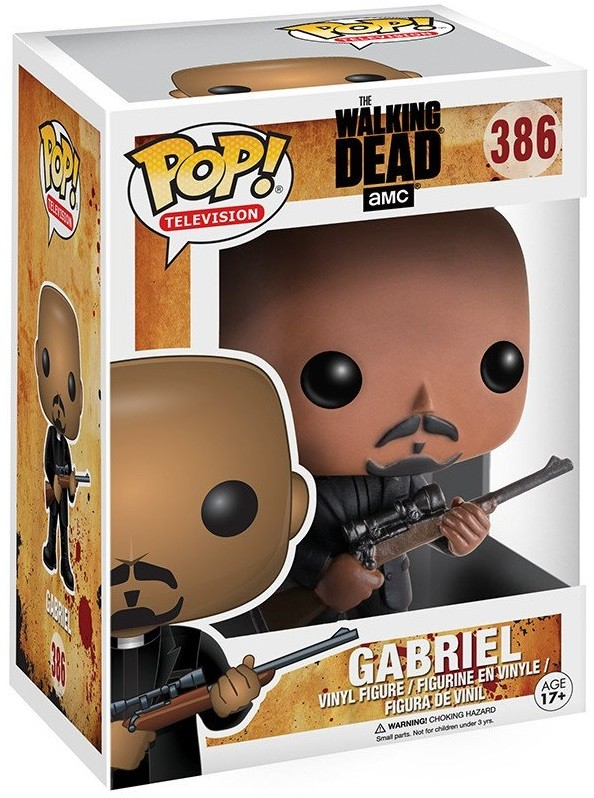 Фигурка Funko POP Television: The Walking Dead – Gabriel (9,5 см)