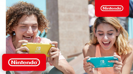 Игровая консоль Nintendo Switch Lite (синий)