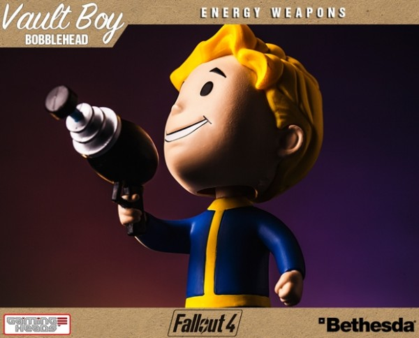 Фигурка Fallout Vault Boy. 111 Bobbleheads. Series One. Energy Weapons (13 см)