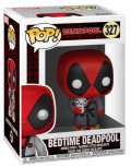 Фигурка Funko POP: Deadpool – Bedtime Deadpool Bobble-Head (9,5 см)