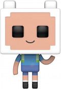 Фигурка Funko POP: Adventure Time Minecraft – Finn (9,5 см)