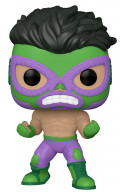 Фигурка Funko POP Marvel: Lucha Libre Edition – El Furioso Hulk Bobble-Head (9,5 см)