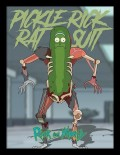 Постер в раме Rick And Morty: Pickle Rick