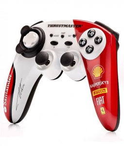 Беспроводной контроллер Thrustmaster. F1 Ferrari 150th Italia Alonso Edition [PS3/PC]