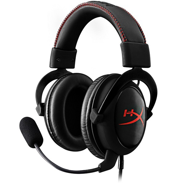 Гарнитура с микрофоном HyperX Cloud Core (Black) для PS4 / PS Vita / Xbox One / PC