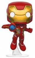 Фигурка Funko POP Marvel: Avengers Infinity War – Iron Man Bobble-Head (9,5 см)