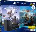 Игровая консоль Sony PlayStation 4 Pro (1TB) Black (CUH-7208В) + игра Horizon: Zero Dawn + игра God of War