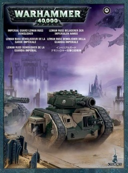 Набор миниатюр Warhammer 40,000. Imperial Guard Leman Russ Demolisher (новая версия)