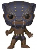 Фигурка Funko POP: Marvel Black Panther – Black Panther Warrior Falls Bobble-Head (9,5 см)