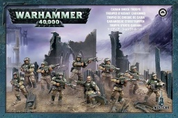 Набор миниатюр Warhammer 40,000. Imperial Guard Cadian Shock Troops