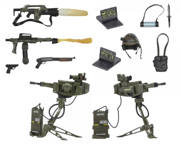 Набор Aliens: Accessory Pack USCM Arsenal Weapons
