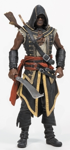 Фигурка Assassin's Creed. Assassin Adewale (15 см)