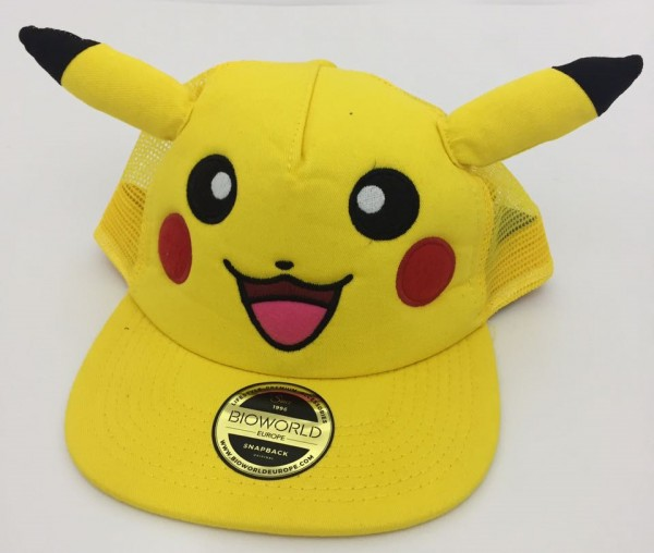 Бейсболка Pokemon. Pikachu with ears Snapback