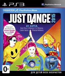 Just Dance 2015 (только для PS Move) [PS3]