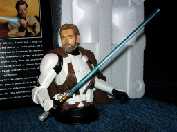 Фигурка Star Wars: Episode 3. Obi-Wan Kenobi Mini Bust. (16 см)