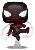 Фигурка Funko POP: Marvel Spider-Man Gamerverse – Miles Morales Advanced Tech Suit Bobble-Head (9,5 см)