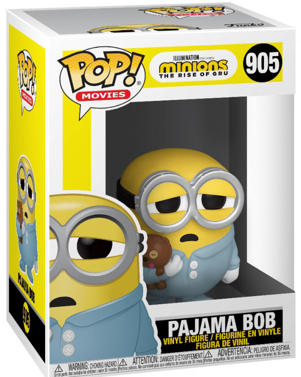 Фигурка Funko POP Movies: Minions The Rise Of Gru – Pajama Bob (9,5 см)