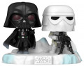 Фигурка Funko POP Star Wars 40: The Empire Strikes Back – Back Darth Vader & Snowtrooper Deluxe Bobble-Head Exclusive