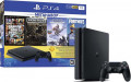 Игровая консоль Sony PlayStation 4 Slim (1TB) Black (CUH-2208B) + игра Жизнь после (Days Gone) + игра Grand Theft Auto V (GTA 5) + игра Horizon Zero Dawn. Complete Edition + игра Fortnite  + PS Plus 3 месяца